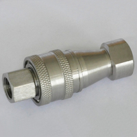 ISO7241-B KZF CLOSE TYPE快卸锁联结(Stainless Steel)