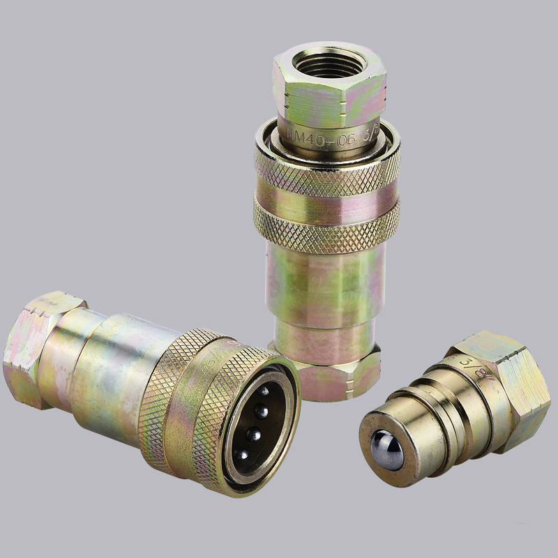 ISO5675 S4中国Supplier Hydraulic Quick Coupler Connect在压力下联结